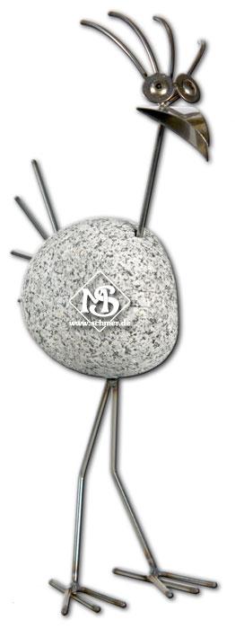 Steinvogel sv 175 s g f r garten und wohnung steinv gel ebay for Metallfiguren garten